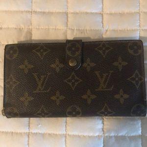 Louis Vuitton authentic wallet